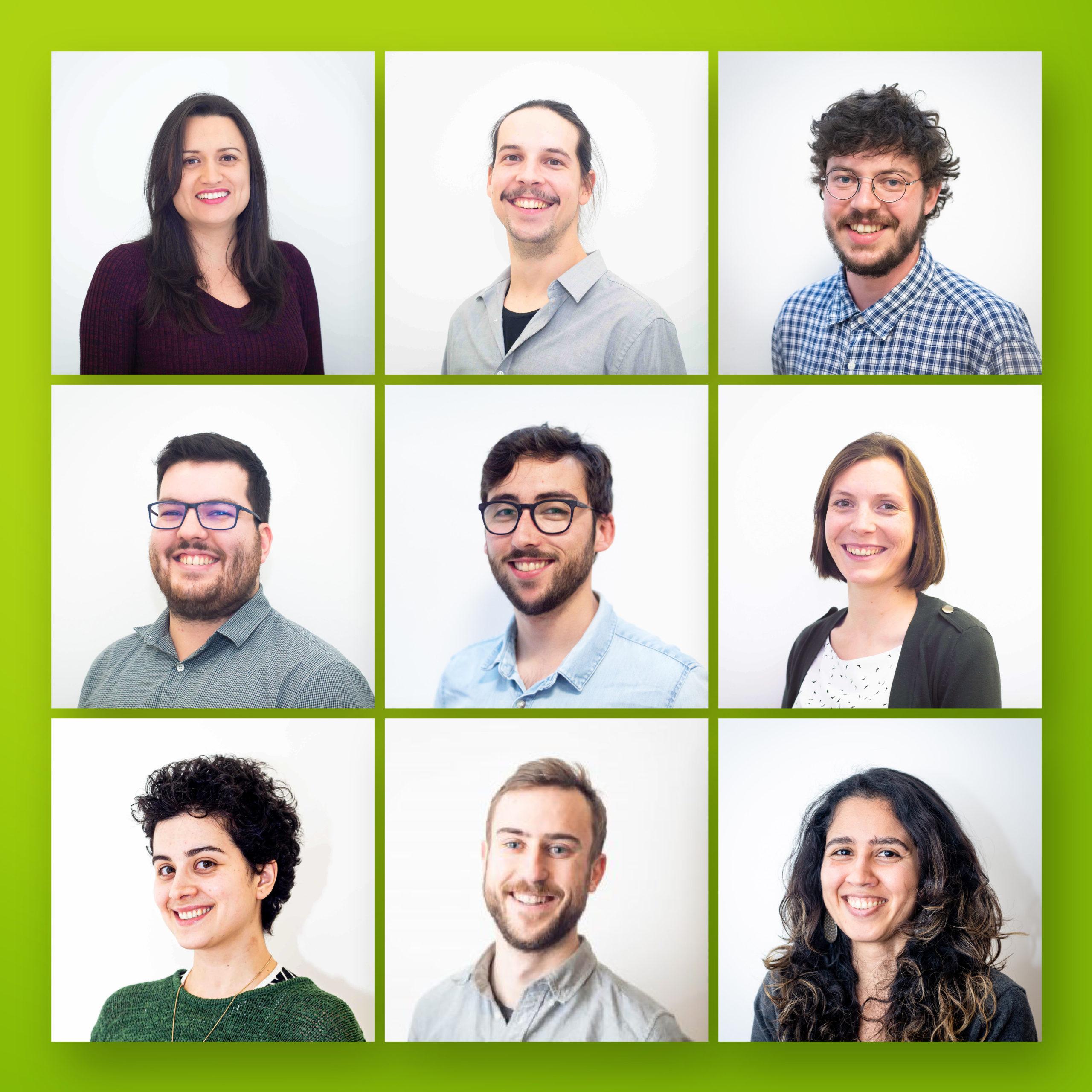 Sélection de portraits d'employé·e·s de Ville en vert