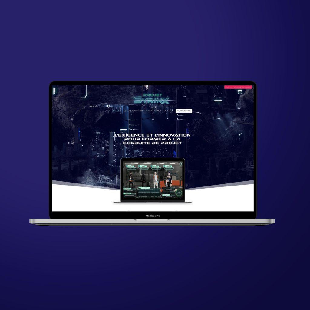 Site internet du projet Syrinx